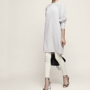 🆕 Reiss Blanca knit sweater dress crew neck